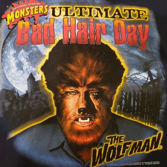 Universal Other - Vintage Universal studios The Wolfman tshirt